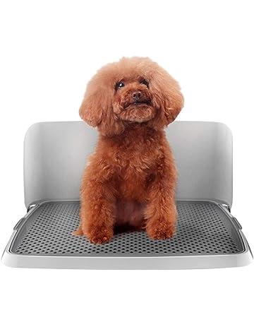 Baño de mascotas Bandeja del retrete del perro, entrenamiento insignificante plástico del perrito interior del