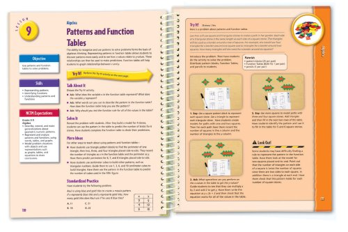 Hands-On Standards: Photo-Illustrated Lessons for Teaching with Math Manipulatives, Grades 5-6 Photo #2