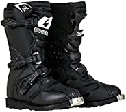 O'Neal Boys' New Logo Black Youth Rider Boot BLK 4