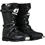 O'Neal Boys New Logo Rider Boot (Black, Size 2)