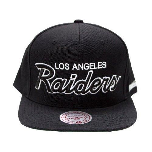 Mitchell & Ness Los Angeles Raiders Snapback Hat -