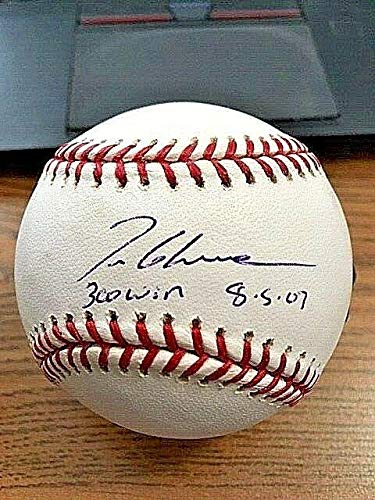 hed Baseball - OML ! ! 300 Wins! Memories - Mounted Memories Certified - Autographed Baseballs ()