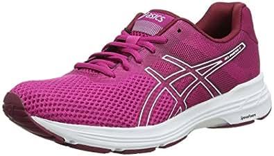 Asics Womens Gel-Phoenix 9 Road Running Shoes, Red (Fuchsia Red/White),6 US,37 EU