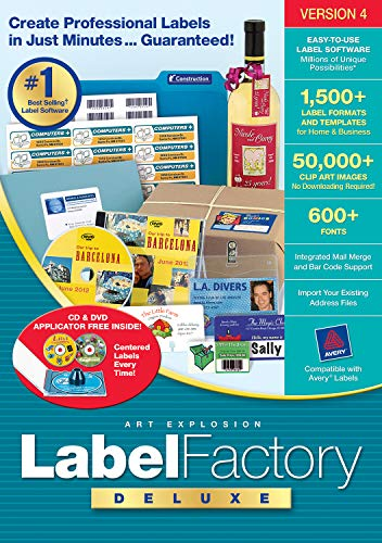 Label Factory Deluxe 4 [Download]