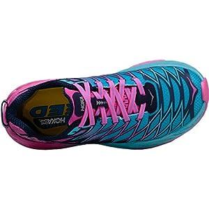 Hoka One One Womens Clayton 2 Running Shoe - top view