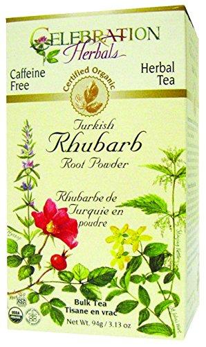 Celebration Herbals Organic Turkish Rhubarb Root Powder Bulk Tea