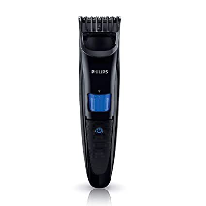 b7f69bf885f700 Philips QT4001/15 cordless rechargeable Beard Trimmer - 10 length settings:  Amazon.in: Health & Personal Care