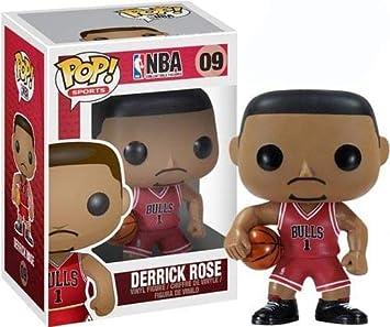 Funko POP NBA Derrick Rose Vinyl Figure by FunKo: Amazon.es ...
