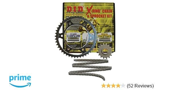 DKK-002 520VX2 Chain and 16//43T Sprocket Kit D.I.D.