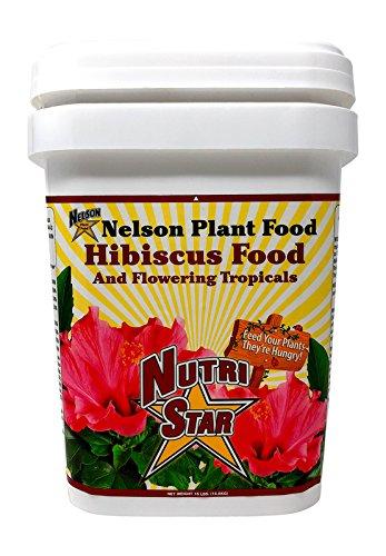 Nelson Hibiscus and Flowering Tropicals in Ground Container Indoor Outdoor Granular Fertilizer NutriStar (15 LB)