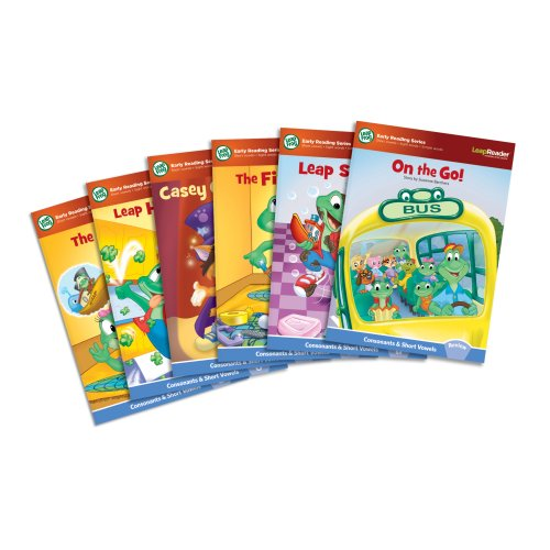 LeapFrog LeapReader Learn to Read, Volume 1 (works with Tag) (Words That Start With Short U Vowel Sound)