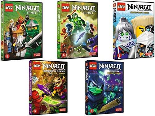 LEGO Ninjago: Masters of Spinjitzu - Complete Series 1 + 2 + 3 + 4 ...