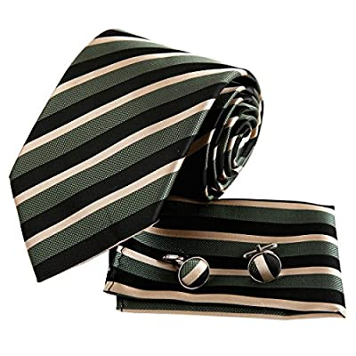 EAC1A05 Fitted Design Striped Silk Tie Various of Colors Gift for Mens By Epoint