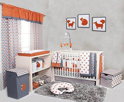 Bacati Playful Including Bumper Orange product image