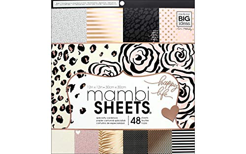 Me & My Big Ideas Mambi Single-Sided Paper Pad 12