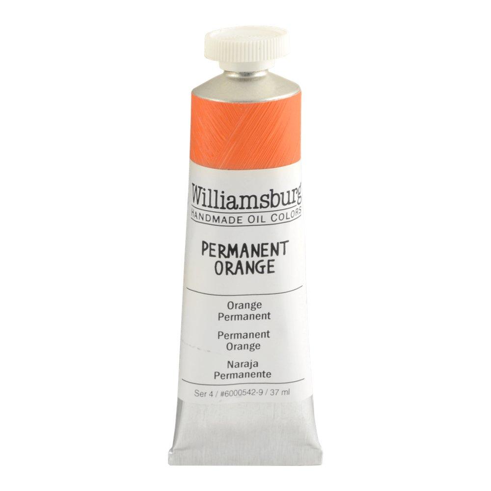 Williamsburg  油絵の具 37 Ml Tube WB60005429 B0178FTMY4 37 Ml Tube|Permanent Orange Permanent Orange 37 Ml Tube