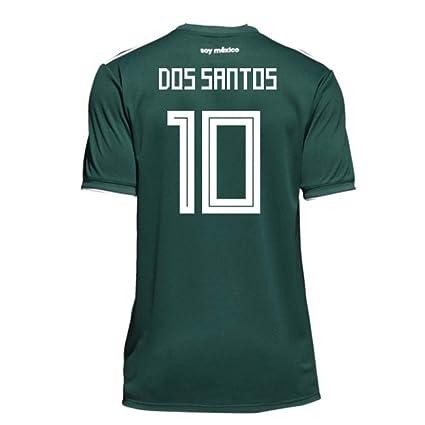 info for 48120 67e9c Amazon.com : 2018-19 Mexico Home Football Soccer T-Shirt ...