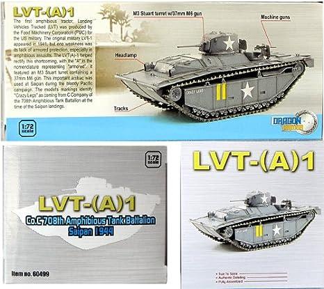 Saipan 1944 1 Co.C 708th Amphibious Tank Battalion A Dragon Models 1//72 LVT-