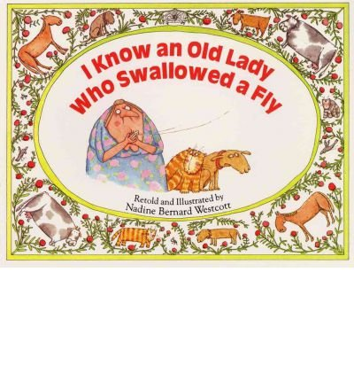 I Know an Old Lady Who Swallowed a Fly(Hardback) - 1984 Edition