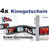4x Kinogutscheine für CineStar, Cinedom, Cineplex, Cinemaxx, UCI, Kinopolis, Kinostar uvm. von MovieChoice - INKL. ZUSCHLÄGE! INKL. LOGE! Einzulösen in fast allen Kinos in Deutschland.
