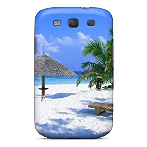 Perfect Tpu Beach Rest Place Phone Case Cover Skin For Galaxy S3 Protective Case