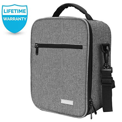 Lunch Box with Firm Foil-BPA FREE, Amersun Original Reusable