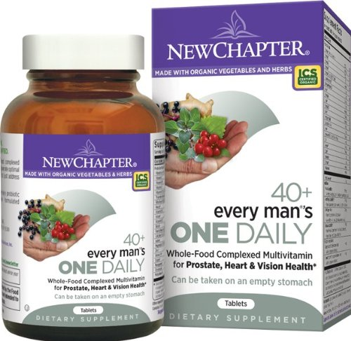 New Chapter Every Man's One Daily 40 Plus, 72 Count