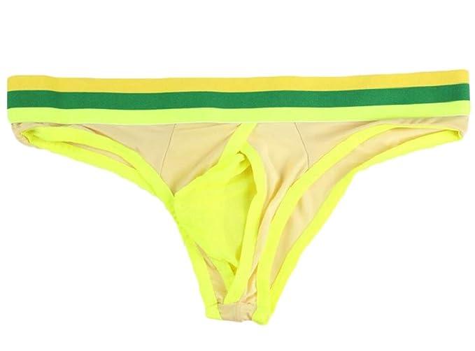 6cf62eec463e Gocgt Men Sexy Bulge Underwear Pouch Breathable Thongs Briefs: Amazon.co.uk:  Clothing