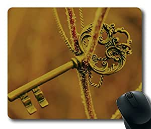 Ancient Keys ,Rectangle mouse pad