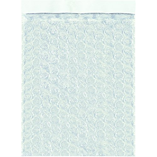 Tape Logic TLBOB58 Self-Seal Bubble Pouches, 5'' x 8'', Clear (Pack of 450) by Tape Logic