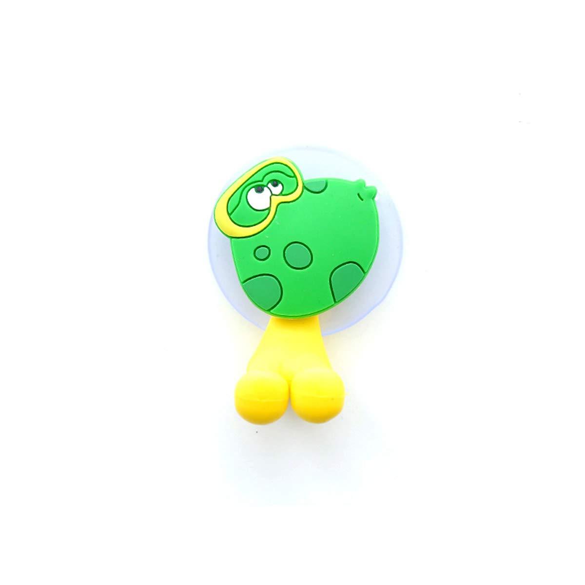 Godea Bonito Soporte para cepillos de Dientes con Ventosa para baño, Pared, Cara Sonriente, Emoji, decoración del hogar: Amazon.es: Hogar