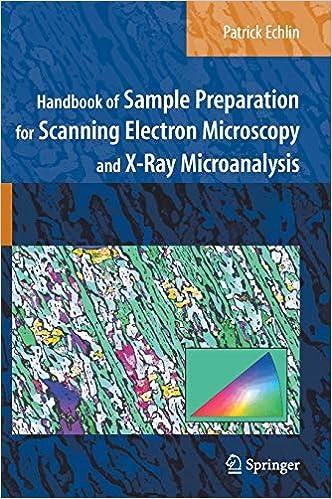 Handbook of Sample Preparation for Scanning Electron Microscopy and X-Ray Microanalysis: Amazon.es: Echlin, Patrick: Libros en idiomas extranjeros