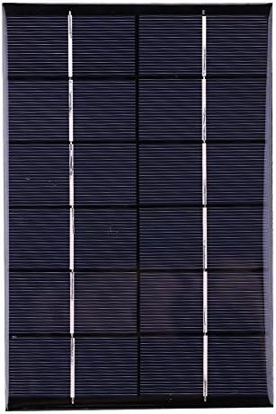 Fdit 4.2w 6v Mini Solarmodul Panel Portable Solar Panel Kit mit Standard-USB-Schnittstelle für Telefone und Camping Reisen
