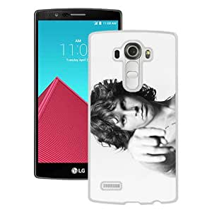 Design for Mass Customization Jim Morrison White Durable LG G4 Protective Skin Cover Case