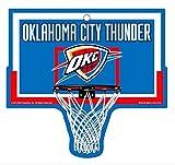 Oklahoma City Thunder NBA Basketball Hoop Street Sign