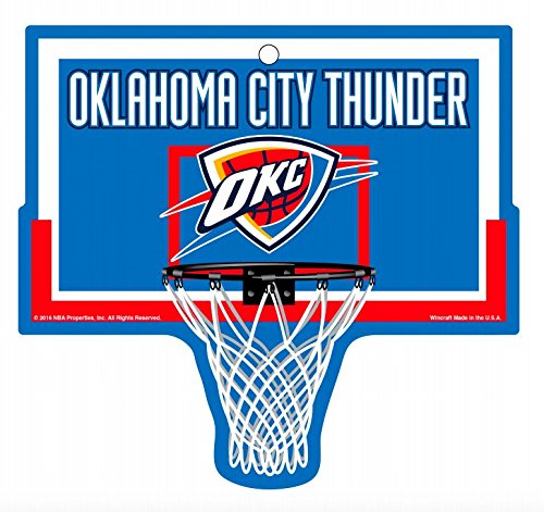 Oklahoma City Thunder NBA Basketball Hoop Street Sign