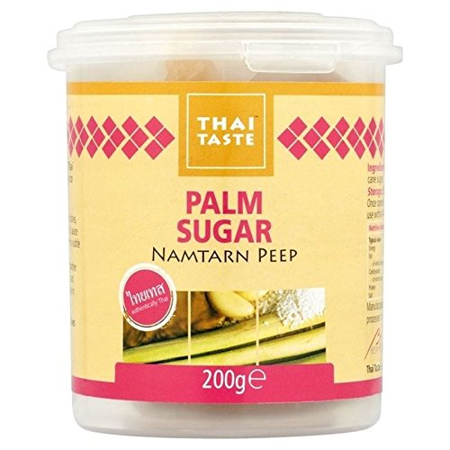 Thai Taste Palm Sugar 200g - Pack of 6