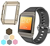 TreasureMax For Fitbit Ionic Rugged Case Slim Rugged Shock Resistant/Anti -Scratch Protective Case for Fitbit Ionic Smartwatch