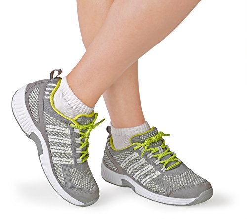 Orthofeet Coral Women's Comfort Orthopedic Arthritis Diabetic Orthotic Sneakers Gray Synthetic 7.5 W US by Orthofeet (Image #2)