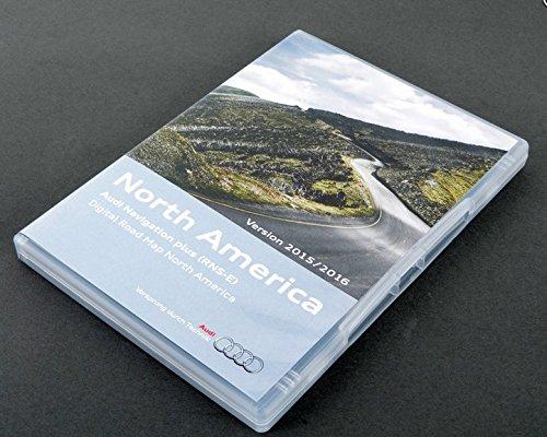 Audi RNS-E North America Navigation DVD 2015-2016  Maps GPS