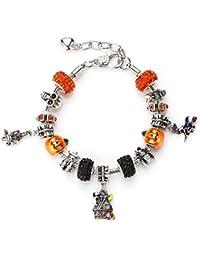 Spooky Halloween Shamballa Charms (Includes six Beautiful shamballa Beads)