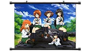 GIRLS und PANZER Anime Fabric Wall Scroll Poster (32 x 25) Inches. [WP]-GIRLS-3 (L)