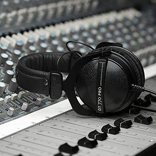 513UgYuqdZL - beyerdynamic DT 770 Pro 80 Limited Edition Headphones, Black