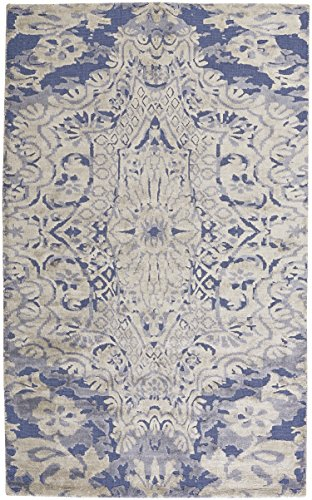 Capel Rugs Williamsburg Lahore 5' x 8' Hand Woven Area Rug - Navy ()