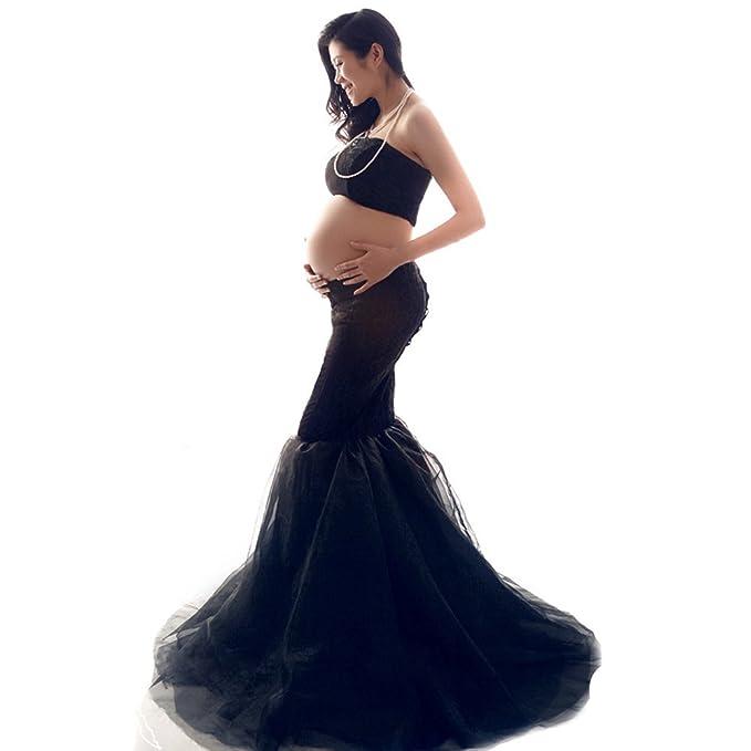 Samber Falda para Mujer Embarazada Ropa de Accesorios de Fotografía