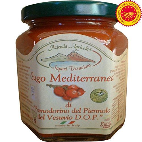 Salsa de tomate mediterráneo con el Vesubio | Piennolo
