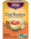 Yogi Tea, Chai Rooibos, 16 Count, Packaging May Vary
