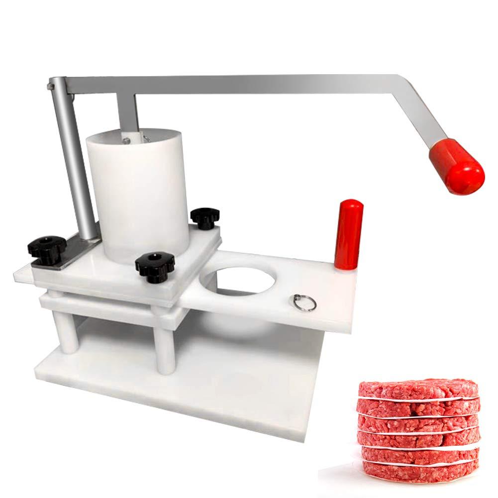 Rbay Commercial Hamburger Patty Maker, Manual Burger Forming Machine Burger Press Tool (5inch Burger) by Rbay