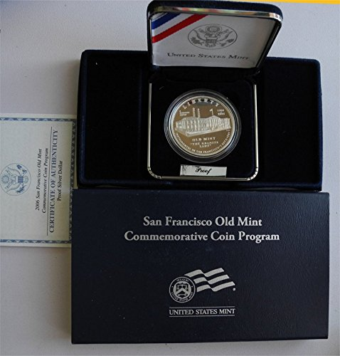 2006 P Old San Francisco Mint Silver Dollar $1 PR-01 US Mint