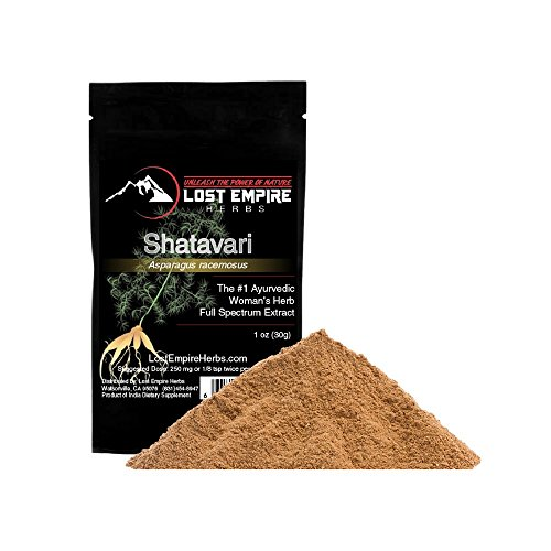 Shatavari Extract Powder - Organic Adaptogenic Herb for Women - Supports Female Reproductive and Digestive Systems - Non Gmo, Gluten Free, Paleo and Vegan Friendly - (30 g)